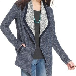 Lucky Lotus brand  knit open cardigan sweater